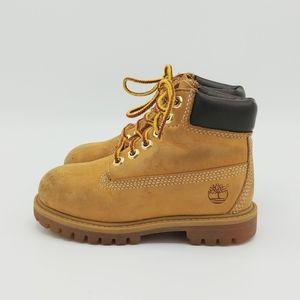 Kids Timberland Boots Classic Size 8.5 Wheat